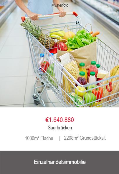 Einzelhandel Saarbrücken Anlageobjekt